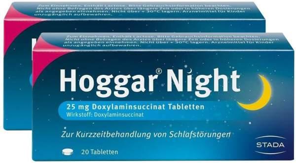 Hoggar Night 2 x 20 Tabletten