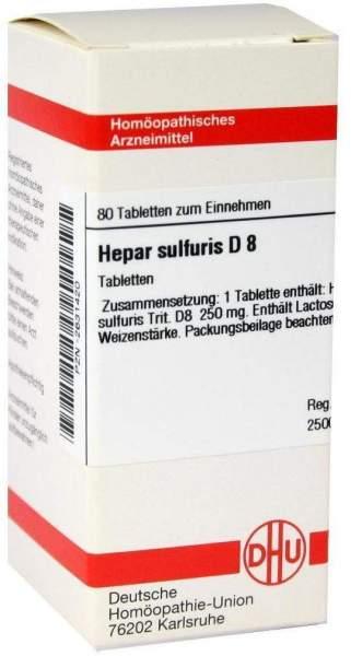 Hepar Sulfuris D 8 Tabletten