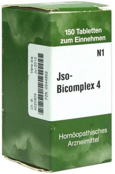 Jso Bicomplex Heilmittel Nr. 4 150 Tabletten