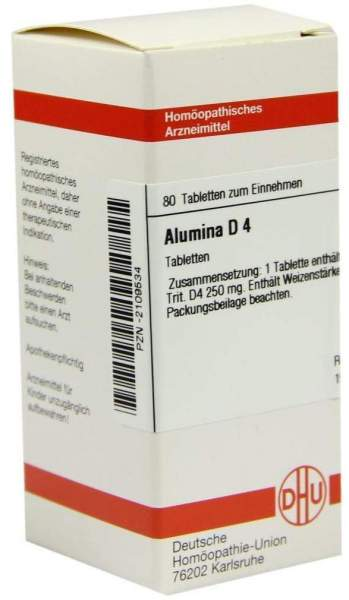 Alumina D 4 80 Tabletten