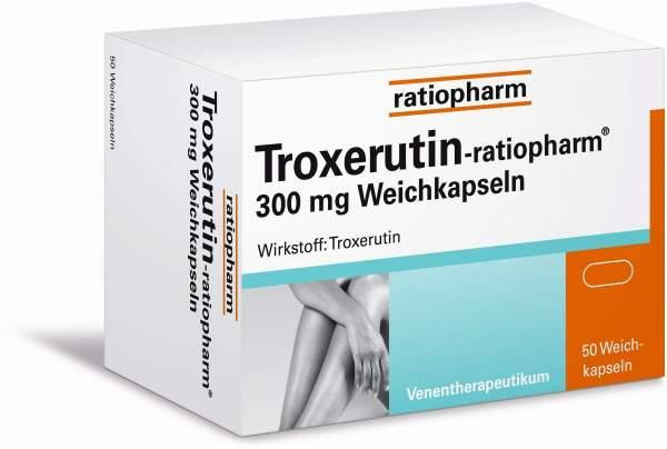 Troxerutin-ratiopharm 300 mg 50 Weichkapseln