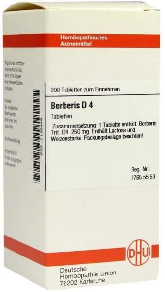 Berberis D 4 200 Tabletten