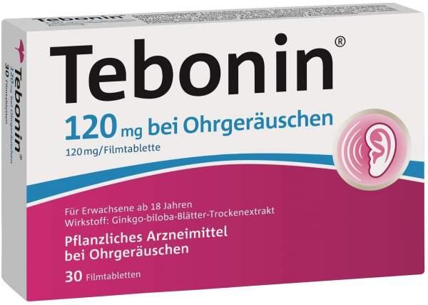 Tebonin 120 mg bei Ohrgeräuschen 30 Filmtabletten
