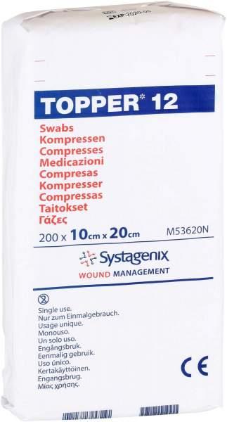 Topper 12 Kompresse Unsteril 10x20cm