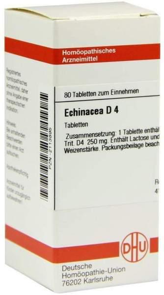 Echinacea D4 80 Tabletten