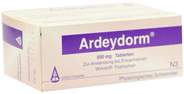 Ardeydorm 100 Tabletten