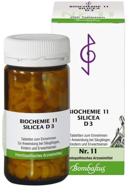 Biochemie 11 Silicea D3 200 Tabletten
