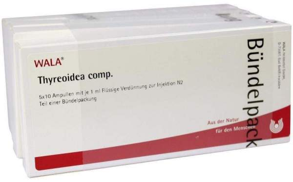 Thyreoidea Comp. Ampullen 50 X 1 ml