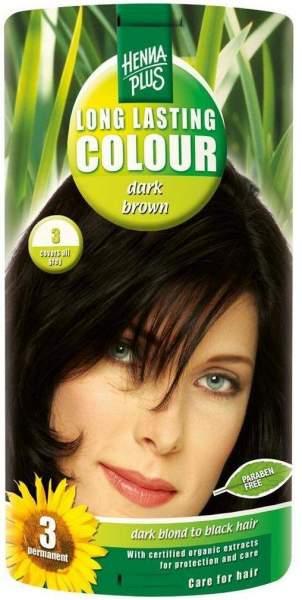 Hennaplus Long Lasting Colour Dark Brown 3 100 ml
