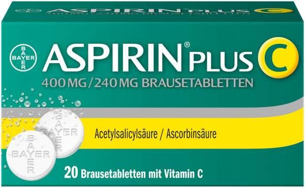 Aspirin Plus C 20 Brausetabletten