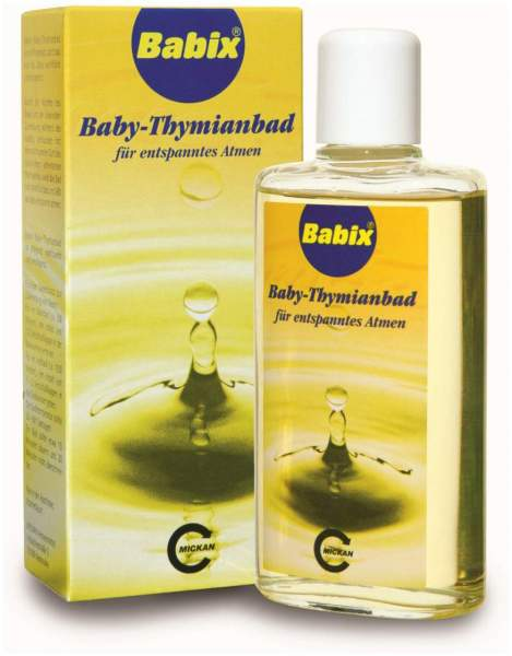 Babix Baby Thymianbad 125 ml Bad