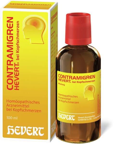 Contramigren Hevert bei Kopfschmerzen 100 ml Mischung