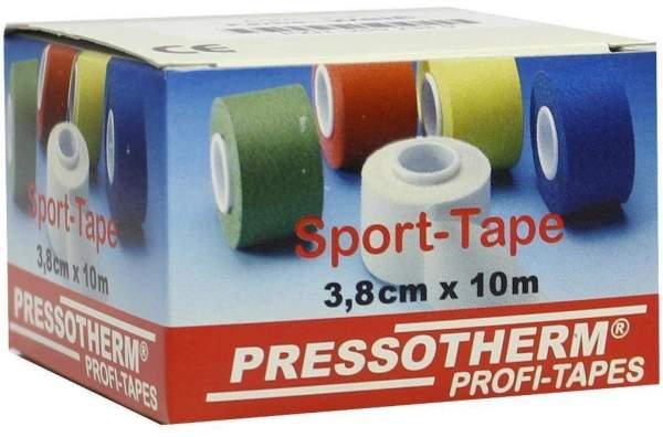 Pressotherm 1 Sport Tape 3,8 cm X 10 M Weiß