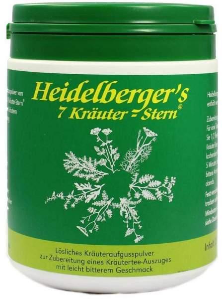 Heidelbergers 7 Kräuter Tee 250 G
