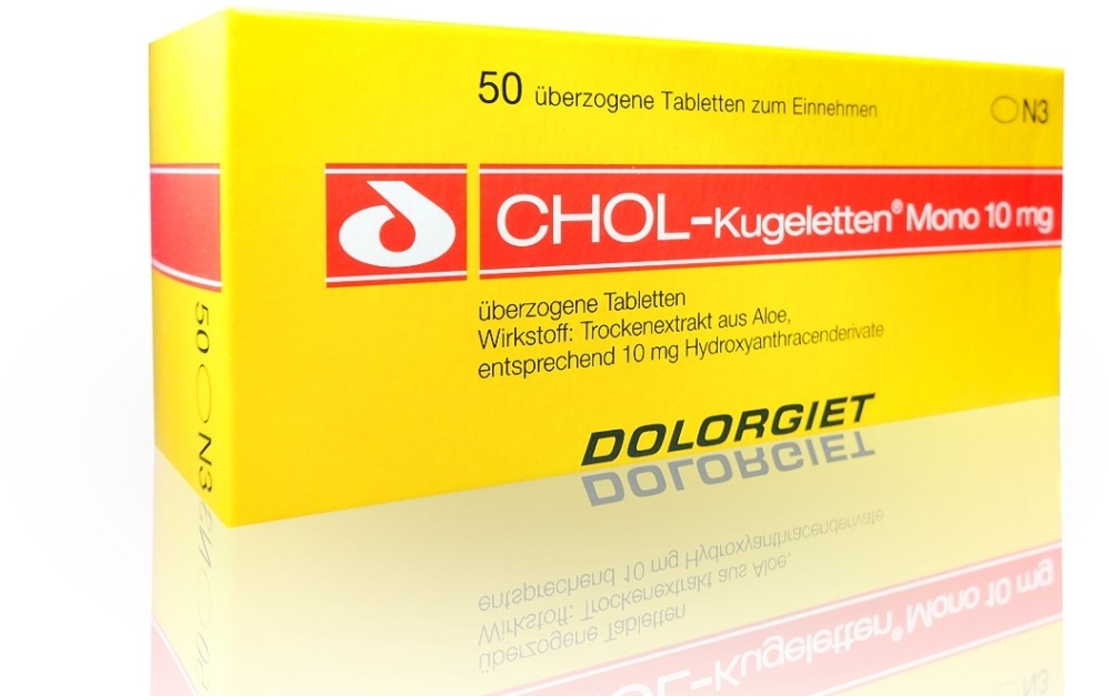 Chol Kugeletten Mono 10 mg Überzogene Tabletten