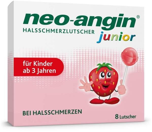 Neo Angin junior Halsschmerzlutscher 8 Stück