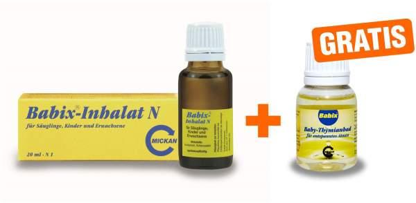 Babix Inhalat N 20 ml Inhalat + gratis Babix Baby Thymianbad 20 ml