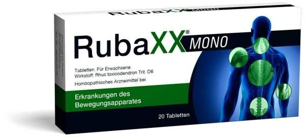 Rubaxx Mono 20 Tabletten