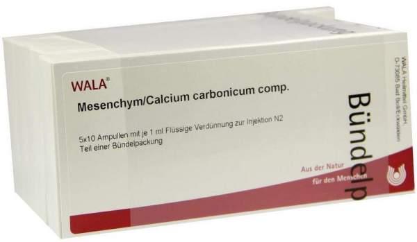 Wala Mesenchym Calcium Carbonicum Comp 50 X 1ml Ampullen