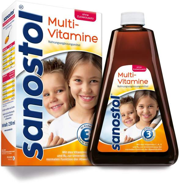 Sanostol Ohne Zuckerzusatz 230 ml Saft