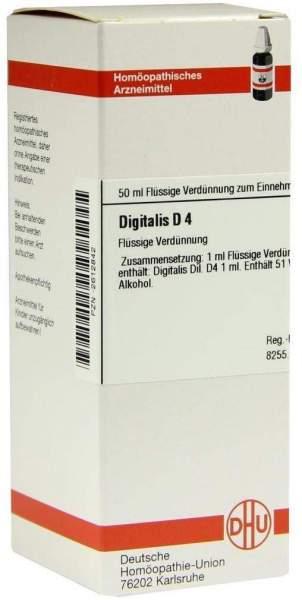 Digitalis D 4 Dilution