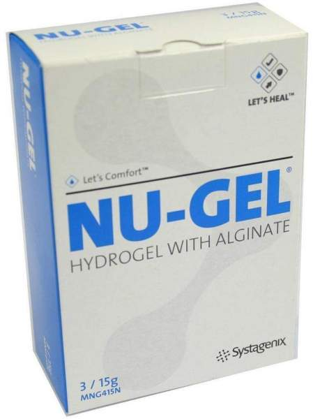 Nu Gel Hydrogel Mng 415 3 X 15 G Wundgel
