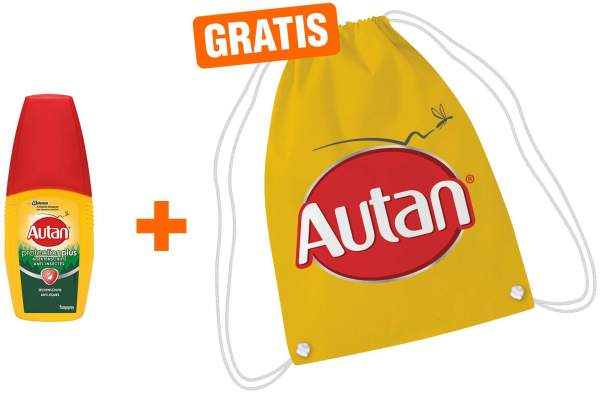 Autan Protection Plus Zeckenschutz 100 ml + gratis Turnbeutel