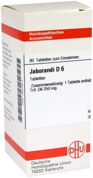 Jaborandi D 6 80 Tabletten