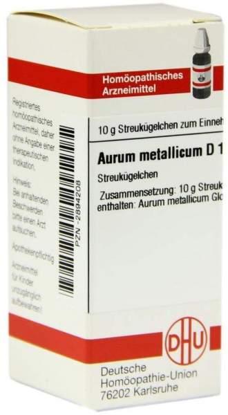 Aurum Metallicum D 10 Globuli