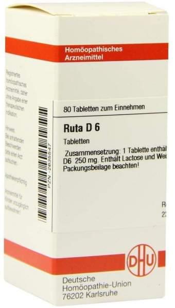Ruta D 6 80 Tabletten