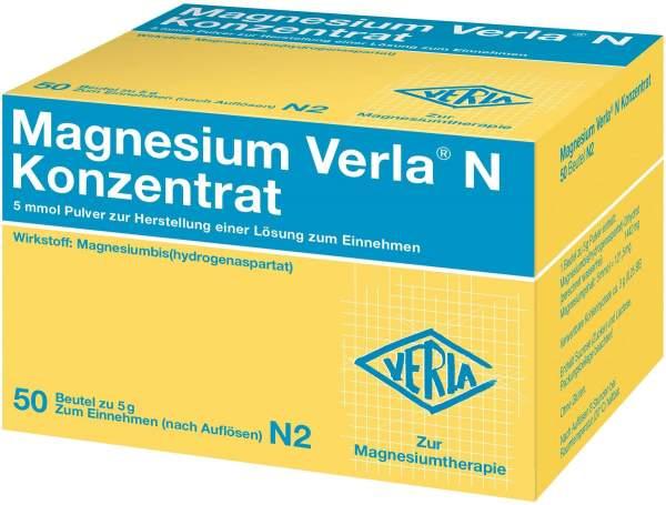 Magnesium Verla N Konzentrat 50 Pulver