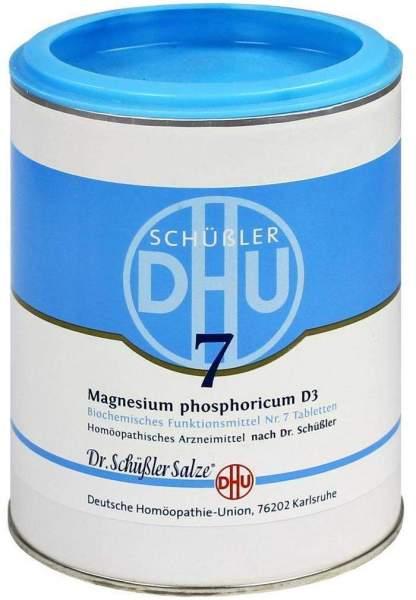 Biochemie Dhu 7 Magnesium Phosphoricum D3 1000 Tabletten