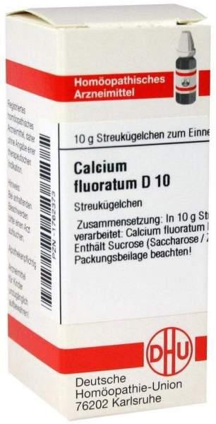Calcium Fluoratum D10 10 G Globuli