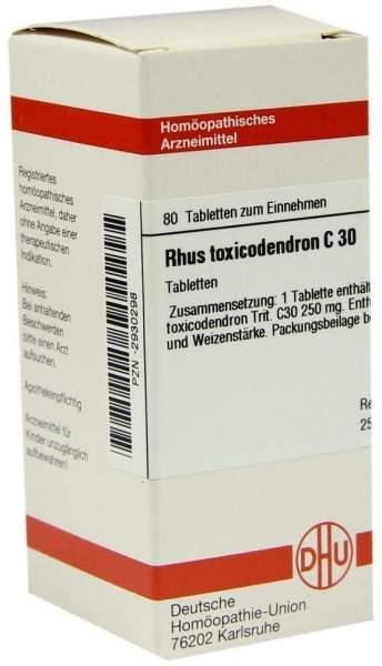 Rhus Tox. C30 80 Tabletten
