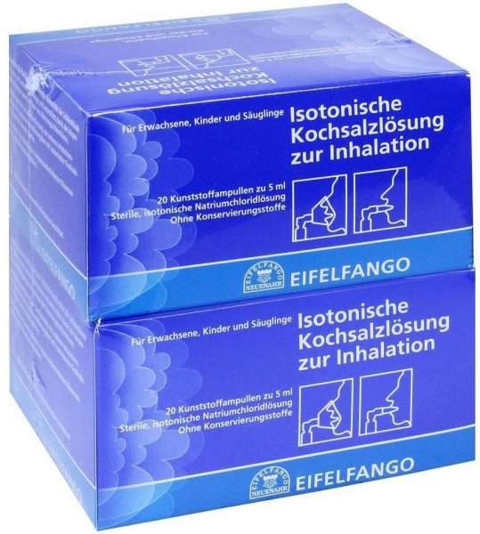 Isotonische Kochsalzlösung zur Inhalation 40 X 5 ml