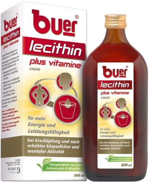 Buer Lecithin Plus Vitamine 500 ml Flüssig