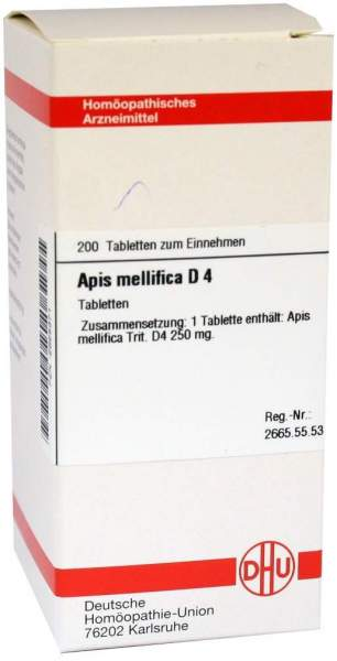 Apis Mellifica D4 200 Tabletten
