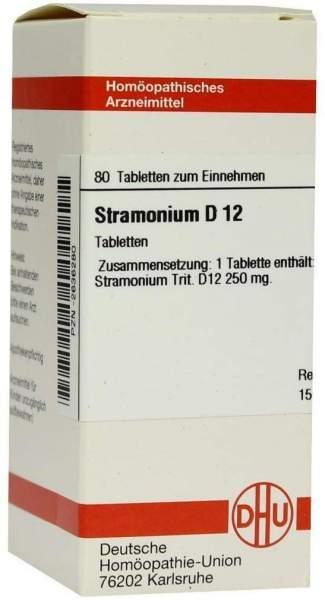 Stramonium D 12 80 Tabletten