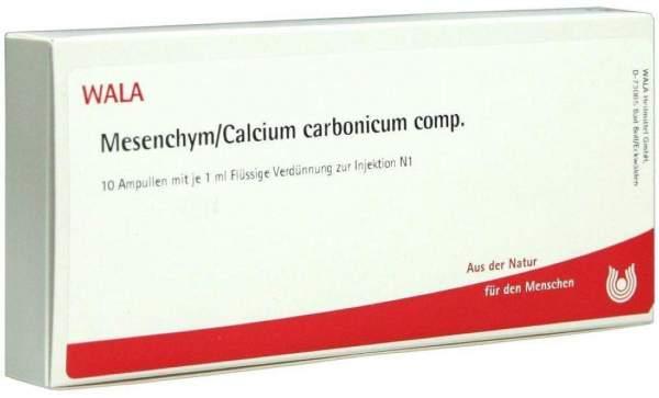 Wala Mesenchym-Calcium Carbonicum Comp 10 X 1ml Ampullen