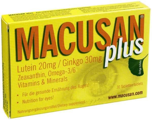 Macusan Plus 30 Tabletten