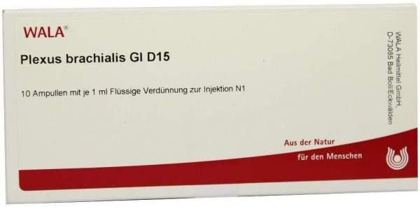 Plexus Brachialis Gl D 15 Ampullen 10 X 1 ml