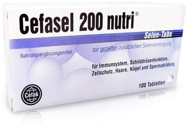 Cefasel 200 nutri Selen Tabs 100 Tabletten