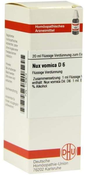 Nux Vomica D 6 20 ml Dilution