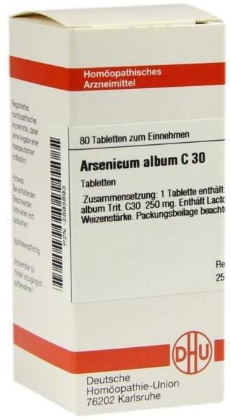 Arsenicum Album C 30 80 Tabletten