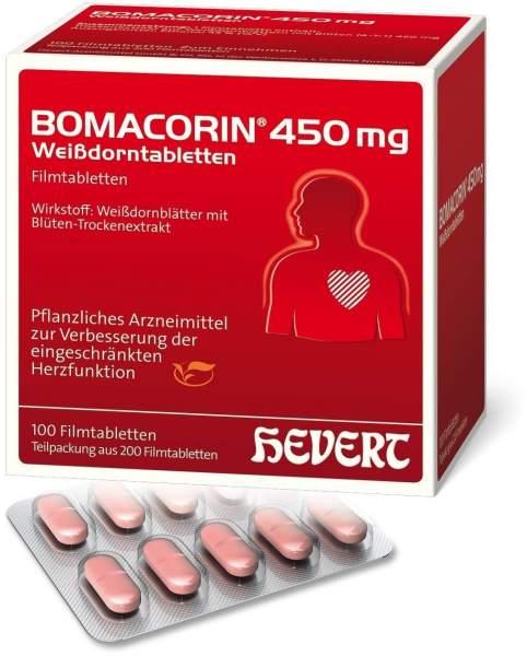 Bomacorin 450 mg Weißdorntabletten 200 Stück