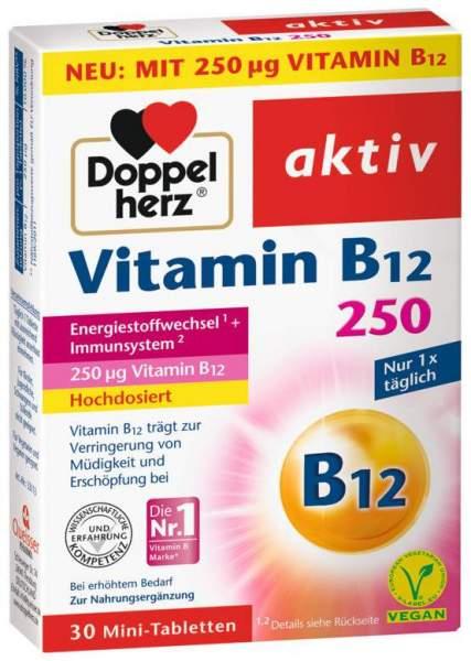 Doppelherz aktiv Vitamin B12 250 µg 30 Tabletten