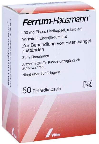 Ferrum Hausmann 50 Retardkapseln