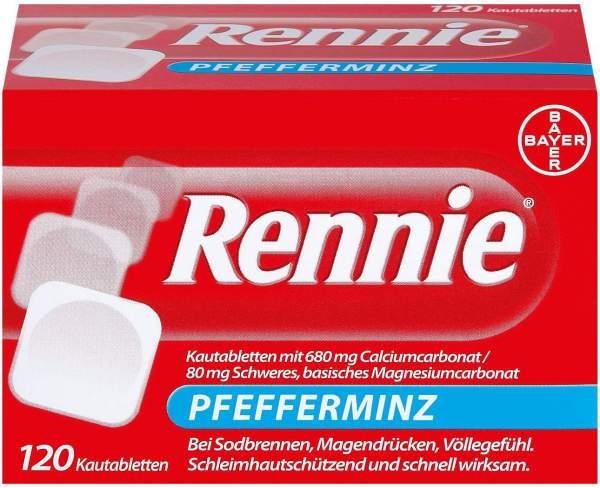 Rennie Pfefferminz 120 Kautabletten