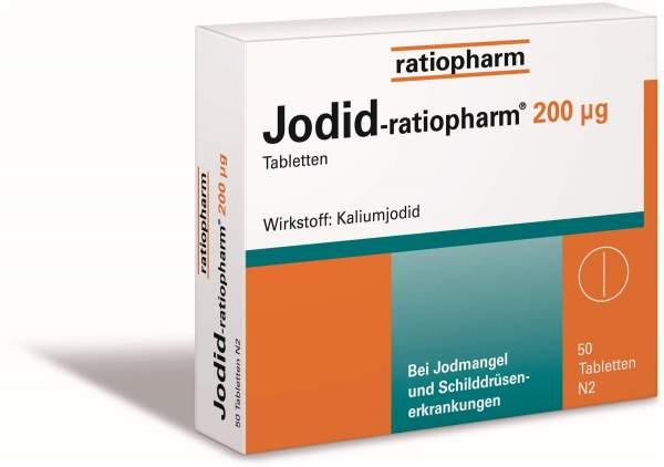 Jodid-Ratiopharm 200 µg 50 Tabletten