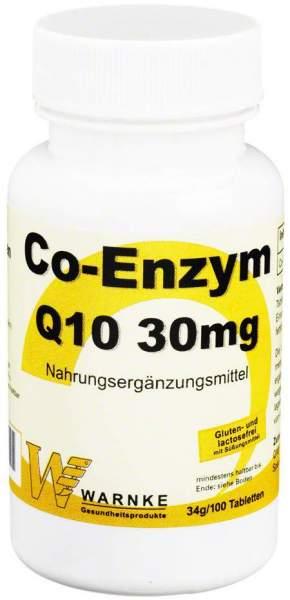 Co-Enzym Q10 30 mg 100 Tabletten